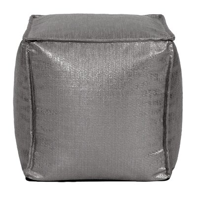 Birness Pouf Color: Zinc