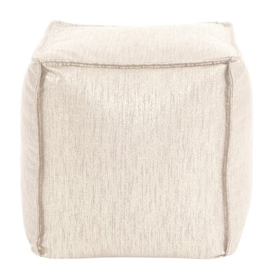 Birness Pouf Color: Snow