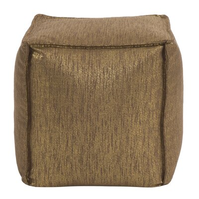 Birness Pouf Color: Chocolate