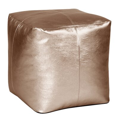 Bismuth Pouf Color: Bronze