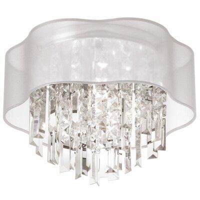 Francina 3-Light Flush Mount