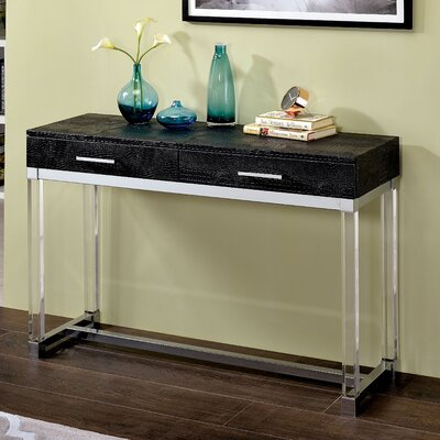 Maxwell Console Table Finish: Black