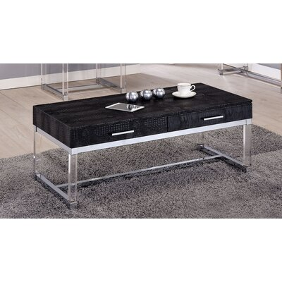 Maxwell Coffee Table Finish: Black