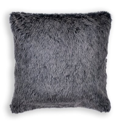 Shrewsbury Faux Fur Throw Pillow