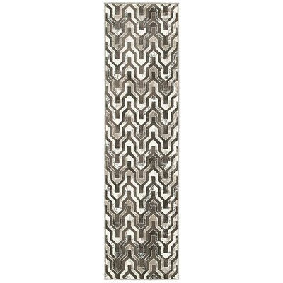 Fiona Beige/Brown Area Rug Size: Runner 11 x 71