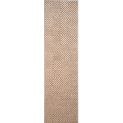 Gilberta Taupe Area Rug Rug Size: Rectangle 5 x 76