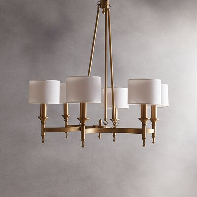 Rudolph 6-Light Drum Chandelier