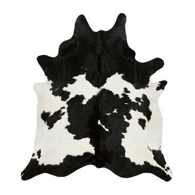 Stroud Black & White Cowhide Rug Size: 6 x 76