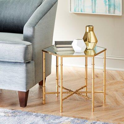 Sunstone Side Table Finish: Gold