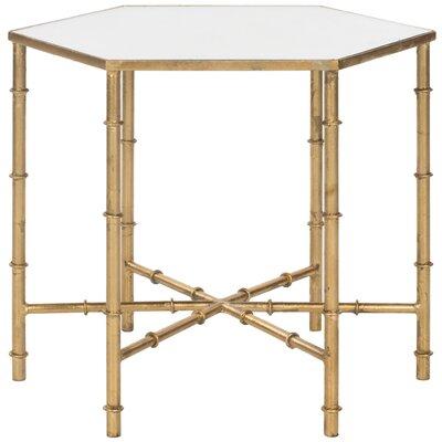 Blackshale Side Table Color: Gold