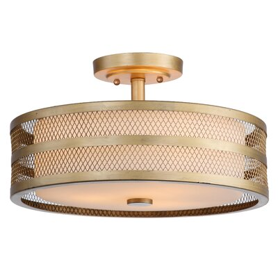 Barloy 3 Light Drum Pendant