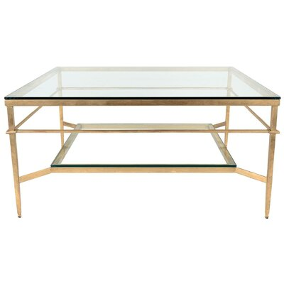Thetford Coffee Table Base Finish: Glossy Gold