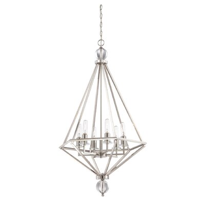 Thornbury 6-Light Foyer Pendant Finish: Polished Nickel
