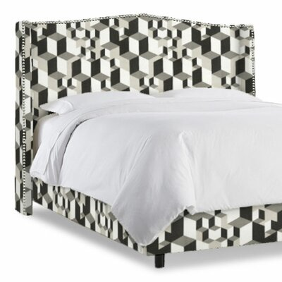 Elvire Upholstered Wingback Headboard