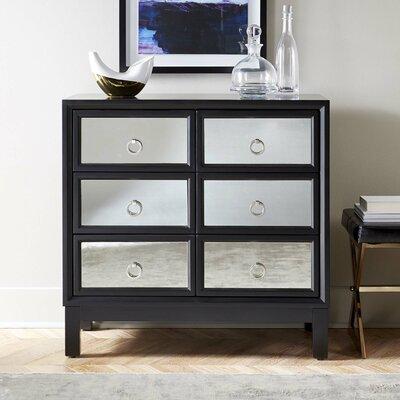 Cheval 6 Drawer Dresser