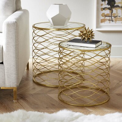 Brixton 2 Piece Nesting Table