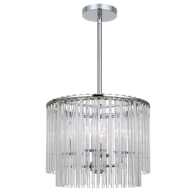 Spalding 4-Light Drum Chandelier