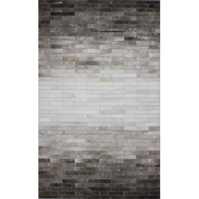 Termonde Ombre Cowhide Rug Rug Size: 9 x 12