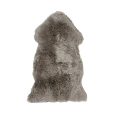 Christofor Sheepskin Vole Area Rug Rug Size: Rectangle 2 x 3
