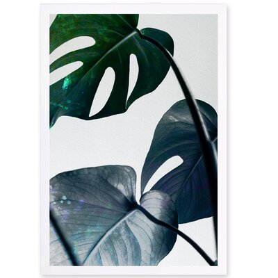 'Leaves and Leaves' Photographic Print on Wrapped Canvas