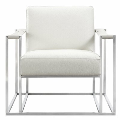 Harald Armchair Finish: Silver