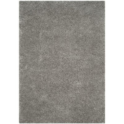 Hermina Silver Area Rug Rug Size: 51 x 76