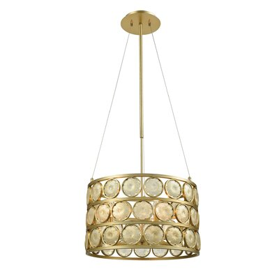 Aldworth 5-Light Drum Pendant