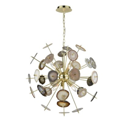 Alexandria 6-Light Sputnik Chandelier