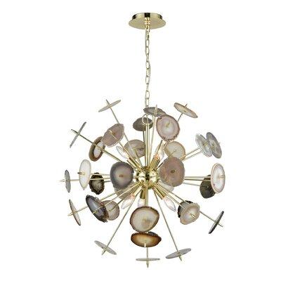 Alexandria 6-Light Sputnik Chandelier
