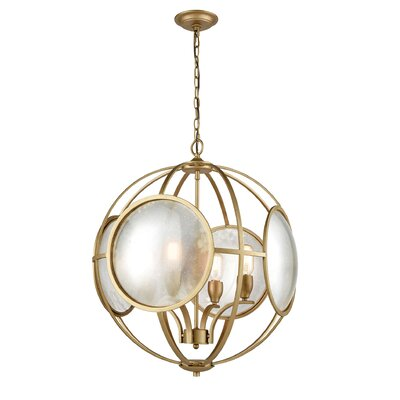 Alex Cove 4-Light Globe Pendant