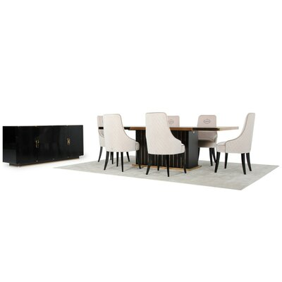 Kevinson 8 Piece Dining Set