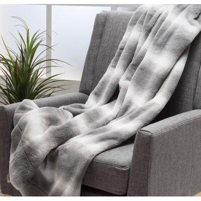 Totnes Throw Blanket Color: Flint