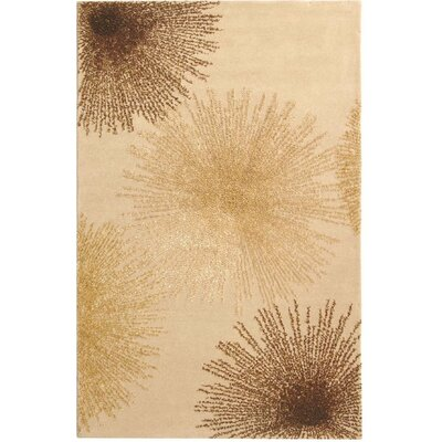 Germain Beige Area Rug Rug Size: Rectangle 36 x 56