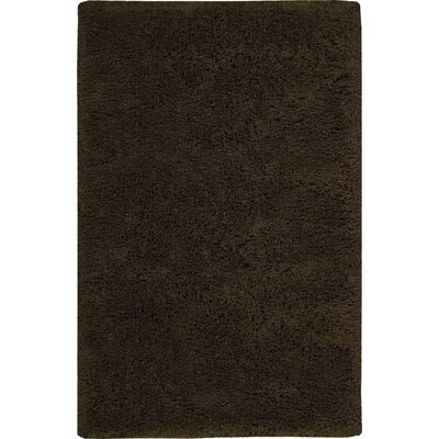 Cheval Hand-Tufted Chocolate Rug Rug Size: 5 x 7