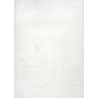 Celsian White Area Rug Rug Size: Rectangle 4 x 6