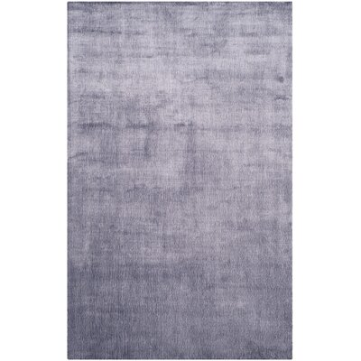 Wald Hand-Knotted Lavender Aura Area Rug Rug Size: Rectangle 6 x 9