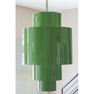 Shoalhaven Drum Pendant Shade Color: Kelly Green
