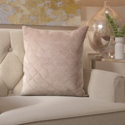 Zeveren Quilt Throw Pillow Size: 18 H x 18 W
