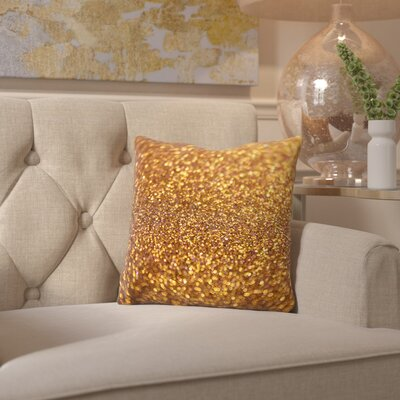Bottesford Shiny Glamour Throw Pillow Size: 14 H x 14 W x 2 D