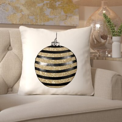 Chic Ornament III Throw Pillow