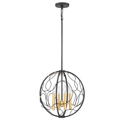 Belgrave 4-Light Foyer Pendant