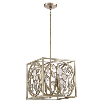 Beecham 4-Light Foyer Pendant