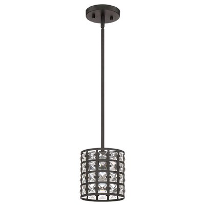 Dowe 1-Light Mini Pendant Finish: Imperial Bronze