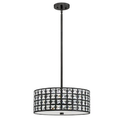 Dowe 4-Light Drum Pendant Finish: Imperial Bronze