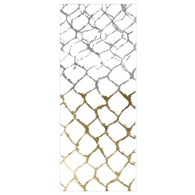 Stockton Organic Net White/Gray/Brown Area Rug