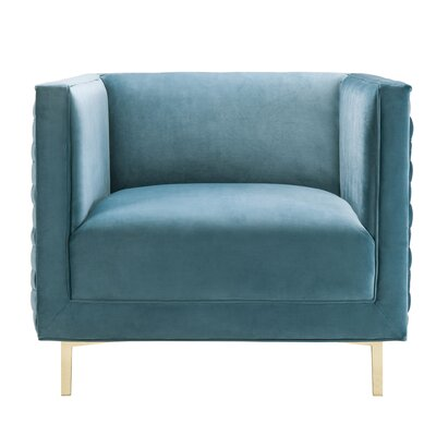Bengt Armchair Upholstery: Sea Blue