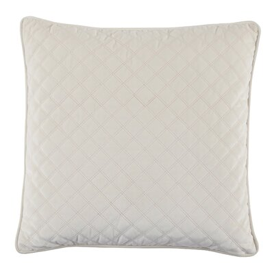 Bellinger Velvet Throw Pillow Color: Ivory