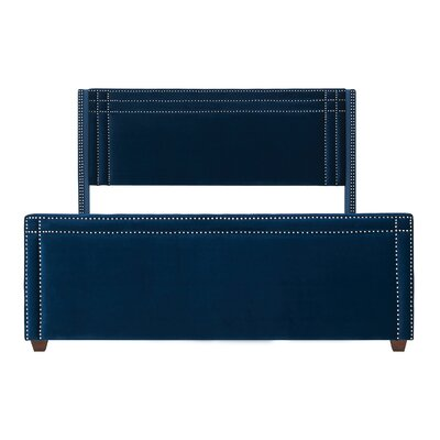 Kelvin Upholstered Panel Bed