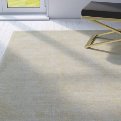 Kingston Citron Rug Rug Size: 36 x 56