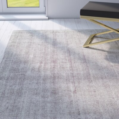 Kingston Plum Area Rug Rug Size: 96 x 136